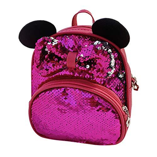 Kinderrucksäcke Mickey Mouse Schule Tasche Rucksäcke for Kinder Baby Jungen Mädchen Kleinkind 1-5 Jahre Allence