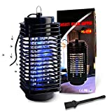 Mosquito Bug Zapper for Indoor and Outdoor, Electronic Insect Attractant Trap Powerful Bug Light, Insect Fly Traps Pest Attractant Traps, Mosquito Zappers, Mosquito Killer for Patio
