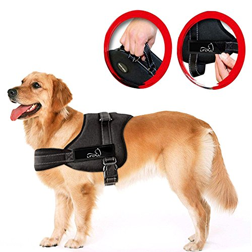 Lifepul No Pull Dog Vest Harness - Dog Body...