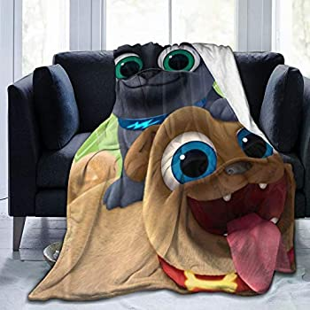 xiaoxiaoshen Puppy-Dog-Pals Blankets Down Blankets Sofa Bed Blankets Four Seasons Warmth Travel Blanket