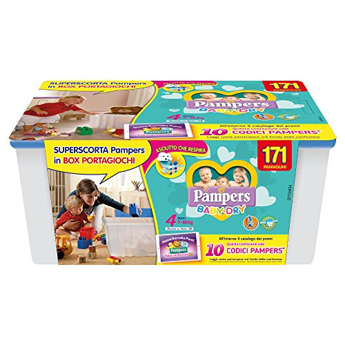 Pampers Baby Dry Windeln Box Baby Dry 4 - Maxi