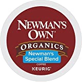 Newman's Own Organics Special Blend, Single-Serve Keurig K-Cup Pods, Medium Roast Coffee, 72 Count