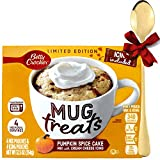 Mug Cake Pumpkin Spice Microvawe Mix with Cream Cheese Icing and Mixing Spoon Cupcake Treats Limited...