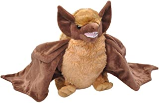 Wild Republic Brown Bat Plush, Stuffed Animal, Plush Toy, Gifts for Kids, Cuddlekins 12 Inches