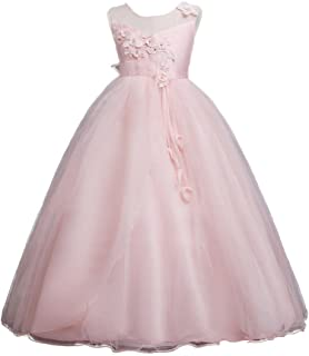78e5804ccb9b8 Moda Fina Baby Girl Party Wear Ball Gown for Birthday, Girls Knee Length Party  Dress