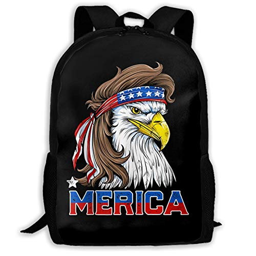 AOOEDM Backpack Th of July Men Women USA School Lightweight Large Capacity Casual Printed Adult Backpack Unisex