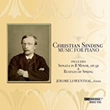 Christian Sinding: Music for Piano by Christian Sinding (2009-10-13)