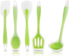 Cooking Utensils 5PCS/Set Silicone Cooking Set Kitchen Utensil Spoon Mixing Heat-Resistant Kitchen Tools Cooking Utensils