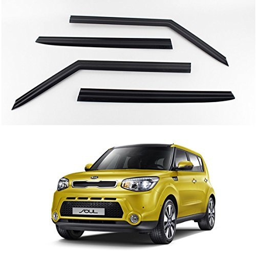 KD Smoke Window Vent Sun Visors Rain Guards for Kia Soul 2014-2019 (K901-135)