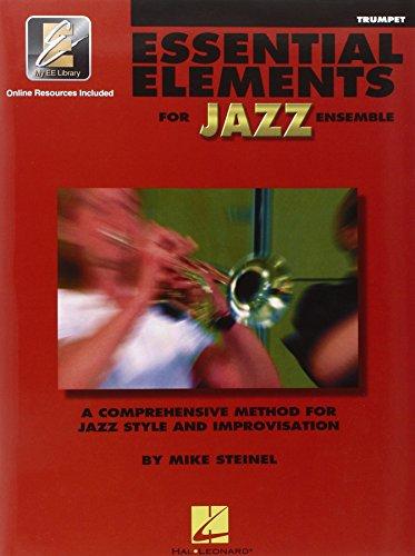 Essential Elements For Jazz Trumpet Bk/Online media