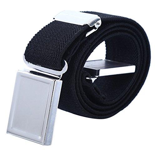 AWAYTR Cinturón magnético elástico para niños pequeños - Cinturones elásticos con hebilla ajustable Cinturones para niños, niñas y niños