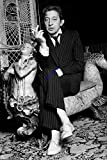 Générique Photo Poster argentique de Serge Gainsbourg. 30x45cm
