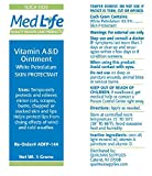 Medlife Vitamins A and D Ointment, Dry Skin, Irritated...
