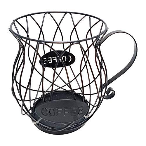 Metagio Cestello porta capsule caffè Porta pod multiplo Custode della Coppa Porta capsule e organizer per caffè ed espresso Contenitore per organizer per ciotola di frutta