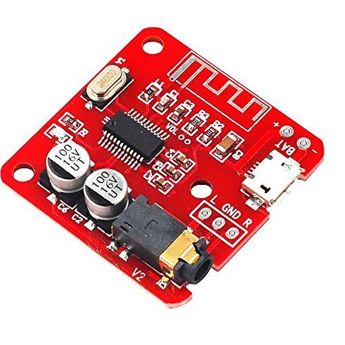 DollaTek Bluetooth 4.2 Decoder Board Lossless Receiving Module Amplificatore Wireless modificato per Amplificatore Audio per Auto Fai-da-Te