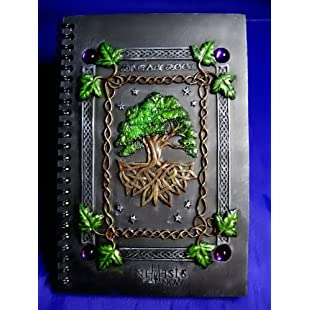 Nemesis Now Book of Shadows/Journal/Note Book Dream Book Tree of Life