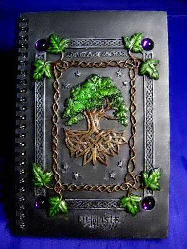 diario/cuaderno de notas/sombras: Dream libro Árbol de la vida