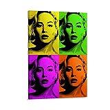 QIANCHANG Jennifer Lawrence Poster Pop Art 4,