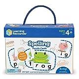 Learning Resources Aprender ortografía, preparación para Preescolar, puzles con autocorrección, para niños de 4+ años (0)