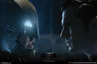 Batman vs. Superman - Stare Poster 34 x 22in