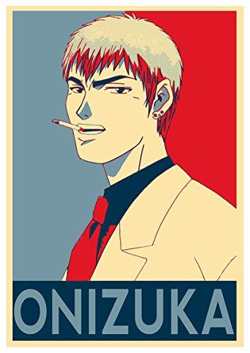 Instabuy Poster GTO Propaganda Onizuka - A3 (42x30 cm)