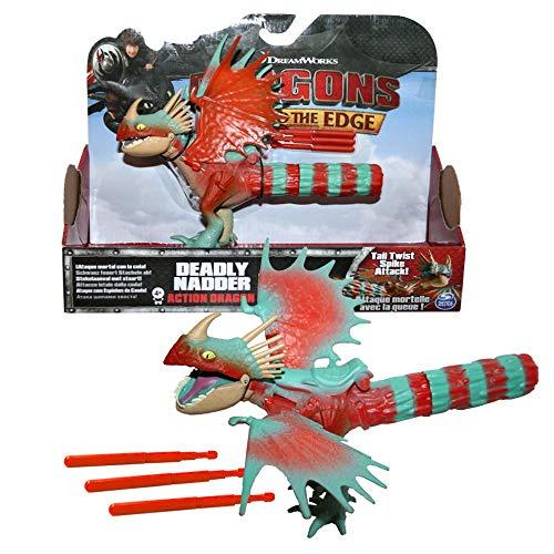 Dragons Sturmpfeil Drachen | DreamWorks Action Spiel Set | Deadly Nadder