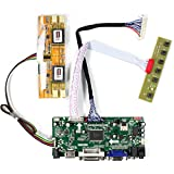 VSDISPLAY HD-MI VGA DVI Audio LCD Controller Board Work for 17' 19' 1280x1024 4CCFL Backlight 30Pin LVDS Interface LCD Panel M170EG01 and so on, Fit for Arcade1Up Monitor