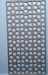 LaserKris - Mueble de Pared para radiador (Tablero DM Perforado (4X2) K4