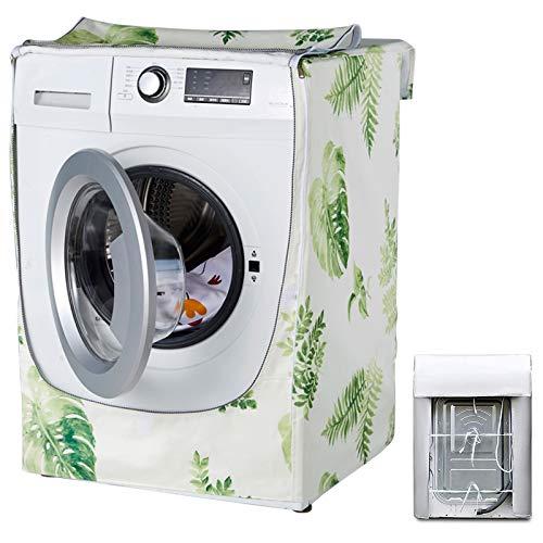 Funda impermeable para lavadora, cubierta impermeable para secadora, apta para la mayoría de lavadoras y secadoras (Forest)