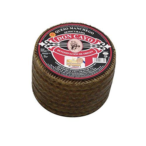 Don Cayo Queso Manchego Semicurado Pequeño - 1200 gr