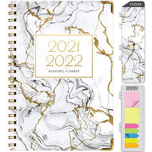 HARDCOVER Academic Year 2021-2022 Planner: (June 2021...