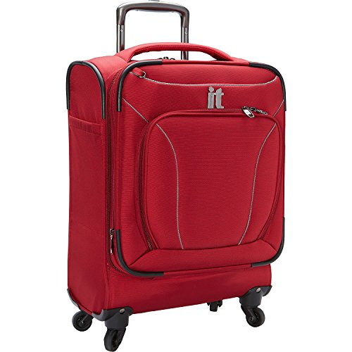IT Luggage Mega-Lite Premium 22 Inch Carry On (Red)