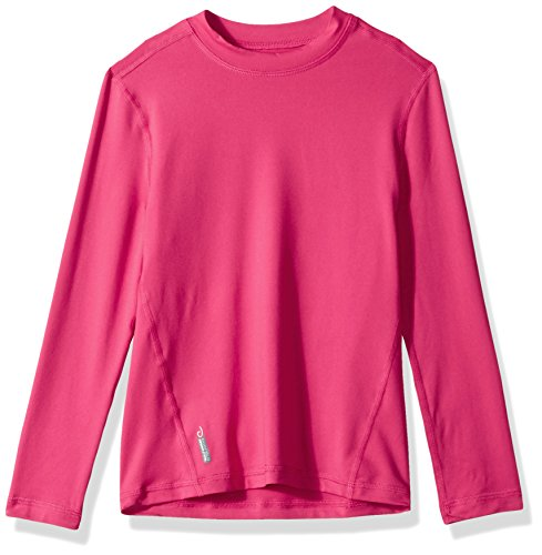 Duofold Big Flex - Playera térmica para niña, Pop Art Rosado, Small