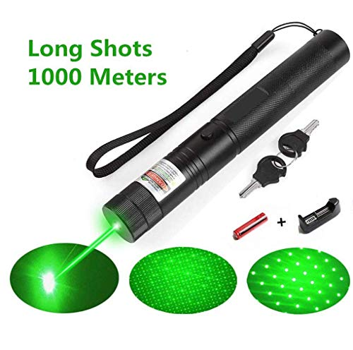 LUCHENG A Set of high Power Green Light Education Pointer 301 Flashlight Demonstration Projector Outdoor Camping Equipment Tactical Hunting Sight LED...