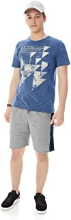 Camiseta Rajada Masculina Rovitex Teen