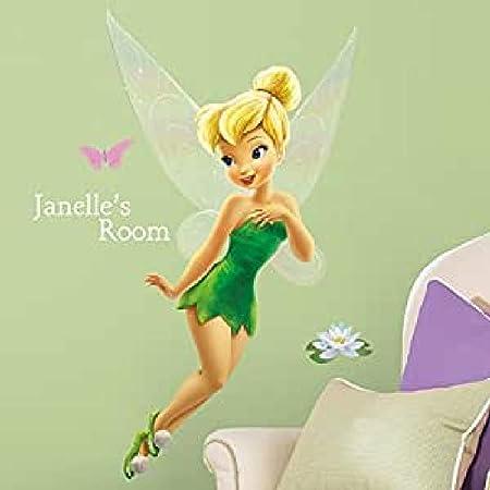 Stickers Repositionnables la Fée Clochette, Personnage Disney avec Alphabets