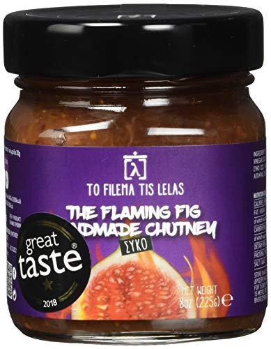 To Filema Tis Lelas Handgemachtes Feigen Chutney - The Flaming Fig 225 g, 2er Pack