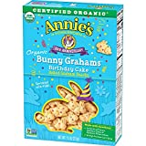 Annie's Homegrown Certified Organic Bunny Grahams Birthday Cake, 7.5 Ounce