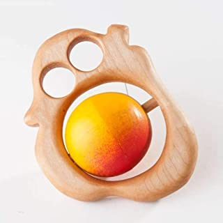 Wooden Juicy Pear Rattle