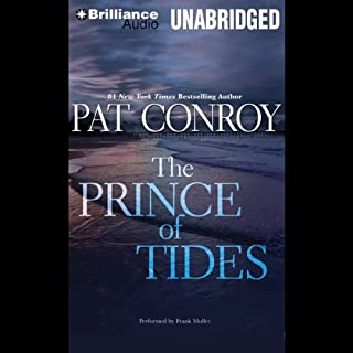 The Prince of Tides audiobook cover art
