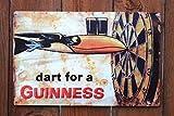 Guinness - Dart Metal Beer Sign (17'x11')
