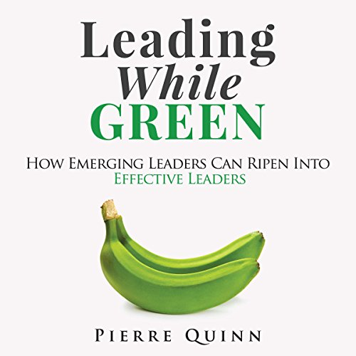 Leading While Green audiobook cover art