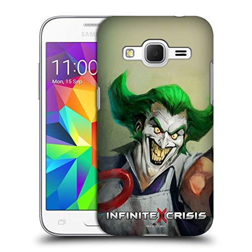 Head Case Designs Ufficiale Infinite Crisis Gaslight Joker Personaggi Cover Dura per Parte Posteriore Compatibile con Samsung Galaxy Core Prime