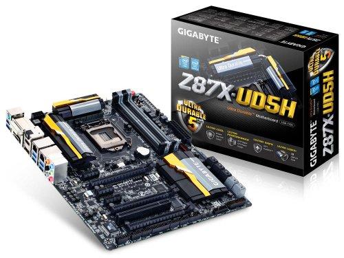 Gigabyte GA-Z87X-UD5H - Placa Base (Socket Intel LGA1150, 4 x DDR3 DIMM hasta 64 GB, 10 x SATA, 10 x USB, 2 x HDMI, Audio HD 7.1)