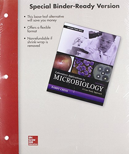 Loose Leaf for Laboratory Applications in Microbiology: A Case Study Approach