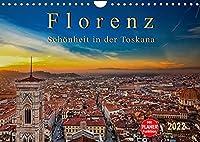 Florenz - Schoenheit in der Toskana (Wandkalender 2022 DIN A4 quer): Florenz - wunderschoen und das kulturelle Highlight in der Toskana (Geburtstagskalender, 14 Seiten )