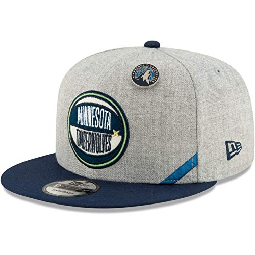 A NEW ERA Era Gorra 9Fifty Draft Heather TimberwolvesEra Plana NBA Cap