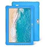 Tablet Para Niños, 4G/WiFi Tablet 10 Pulgadas Full HD 32GB de Memoria Android 8.1 Quad-Core 8.0 MP Batería 8500mAh Bluetooth/GPS/OTG Tablet de función de llamada Youtube Netflix (Blu)