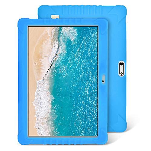 Tablet Para Niños, 4G/WiFi Tablet 10 Pulgadas Full HD 32GB de Memoria Android 8.1 Quad-Core 8.0 MP Batería 8500mAh Bluetooth/GPS/OTG Tablet de función de llamada Youtube Netflix (Blu)