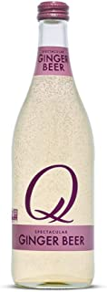 Q Mixers Ginger Beer, Premium Cocktail Mixer, 500 mL (6 Bottles)
